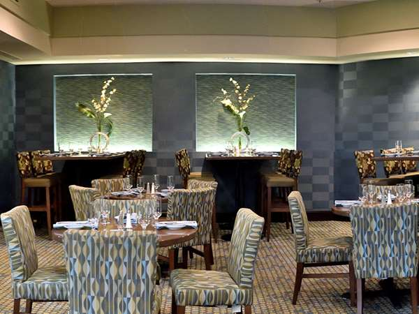 Nichol's private dining room